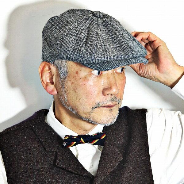 キャスケット秋冬メンズクラシック帽子キャスケット帽ツイード英国ブランドクリスティーズロンドンハンチング帽紳士グレンチェックCHR