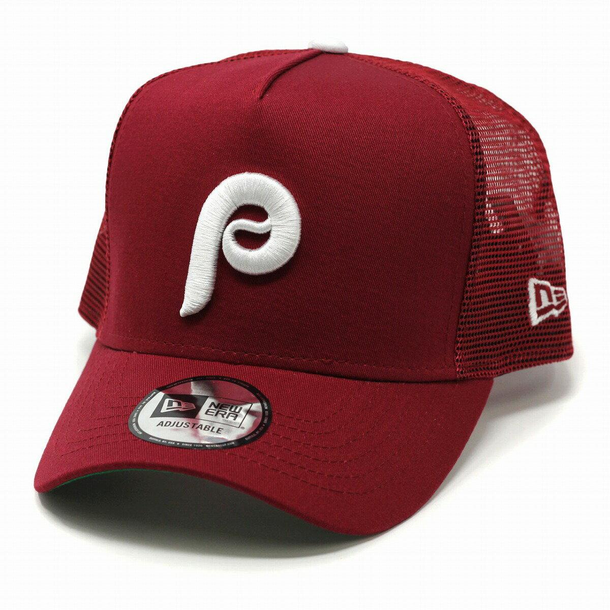 メンズ帽子, キャップ  Trucker NEWERA MLB 9FORTY D-Frame newera Philadelphia Phillies baseball cap
