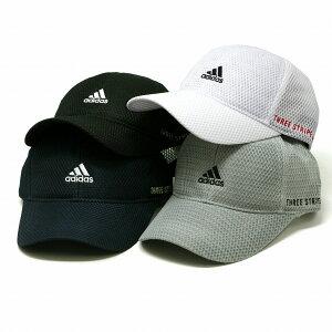 キャップ メンズ アディダス adidas THREE STRIPE LIFE ゴルフ キャップ ランニング ロゴ 帽子 日よけ メッシュキャップ 涼しい 色褪せしにくい 吸汗速乾 父の日 ギフト プレゼント ラッピング無料