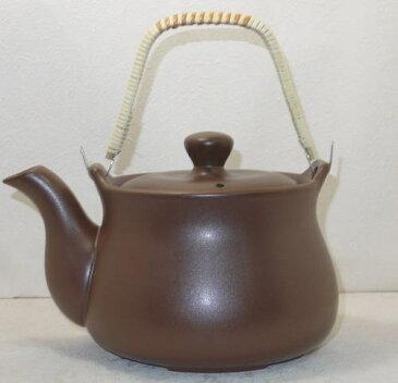 耐熱陶器 薬草土瓶 2リットル(茶) 日本製常滑焼