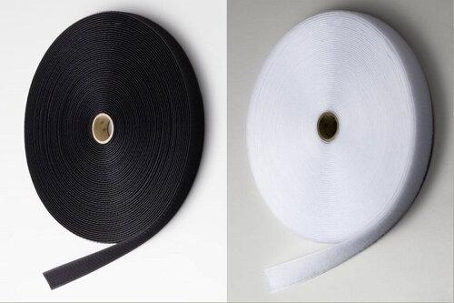 マジックテープ20ミリ幅縫付用オス、メスセット各20m巻