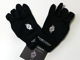 チタニウムストレッチグローブ(フリーサイズ)3本切り手袋