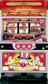 【北電子】アイムジャグラーEX◆コイン不要機セット◆パチスロ実機【中古】