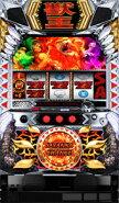 楽天ランキング 1位/【サミー】パチスロ獣王 王者の覚醒◆コイン不要機セット◆パチスロ実機【中古】