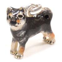 サツルノ:柴犬のシルバーチャーム