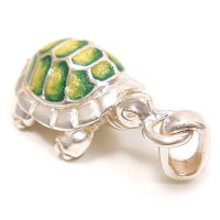 サツルノ:亀のシルバーチャーム