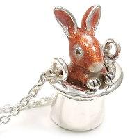 ウサギのペンダント・ネックレス