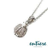 entiere(アンティエーレ):幸福を呼び込むてんとう虫型ペンダントネックレス