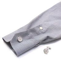 ベルフィオーレ:白蝶貝ボタンのシルバーカフスボタン