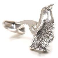 ベルフィオーレ:ペンギンのシルバーカフスボタン