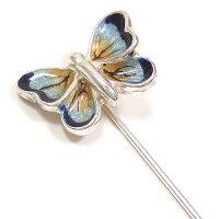 サツルノ:蝶のハットピン