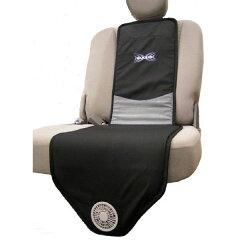 風のでるカーシート。暑い時期や長時間の運転には送風機能つきのざぶとん!省エネで快適!背も...