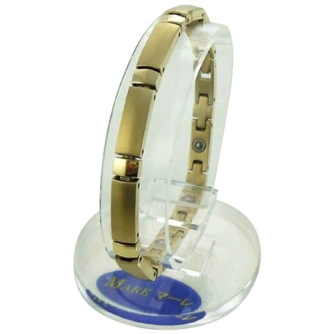 MARE(マーレ) ゲルマニウムブレスレット 14G/IP ミラー/マット 174S (16.15cm) H9392-03S