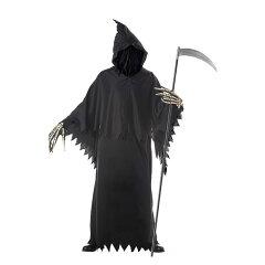 【ハロウィン コスプレ 死神】 Grim Reaper Deluxe 【レビューを書いて送料無料】ゾンビ ホラー コスチューム コスプレ 衣装 仮装 ハロウィーン パーティー 結婚式 二次会 余興 忘年会 新年会 出し物 歓迎会 送迎会 男性用