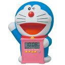 セイコー目覚まし時計 ドラえもん 【JF374A】 キャラクター ドラえもん 時計 クロック SEIKO 目覚まし時計 おしゃべりアラーム 入園 入学 祝い カレンダー 温度表示 子供用 キッズ 贈り物 プレゼント ギフト