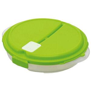 カレーライスなどの1食分の具とご飯を一緒に冷凍保存して、そのまま食卓にも出せる保存ケース【...