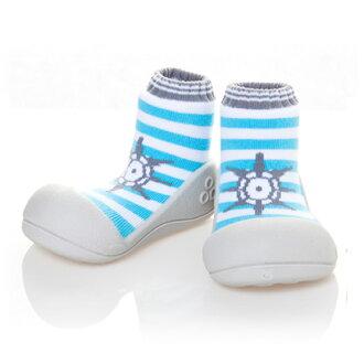 嬰幼鞋Attipas馬林天嬰兒長筒靴嬰兒分娩祝賀小孩小孩乳兒嬰幼兒以及稻草或者禮物禮物祝賀安全放心的住吉店