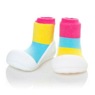 嬰幼鞋Attipas二衣褶粉紅嬰兒長筒靴嬰兒分娩祝賀小孩小孩乳兒嬰幼兒以及稻草或者禮物禮物祝賀安全放心的住吉店