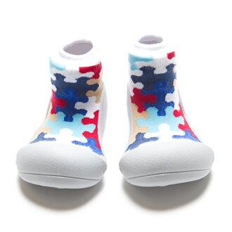嬰幼鞋Attipas謎灰色嬰兒長筒靴嬰兒分娩祝賀小孩小孩乳兒嬰幼兒以及稻草或者禮物禮物祝賀安全放心的住吉店