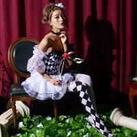 【ハロウィン小物】LEBELLEHARLEQUIN/ADULT■ハロウィーンパーティー結婚式二次会余興忘年会新年会出し物歓迎会送迎会