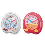 目覚まし アナログ ランデックス ホワイト 置き時計 プレゼント クロック