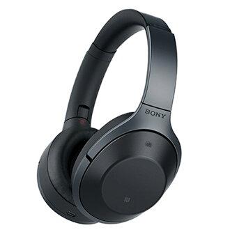 索尼無線噪音撤銷立體聲頭戴式受話器黑色Bluetooth無線耳機耳機高分辨對應
