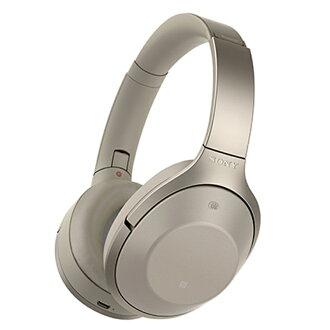 [音樂索尼]索尼無線噪音撤銷立體聲頭戴式受話器灰色淺駝色[MDR-1000X C][北海道,沖繩,孤島的郵費另外估價北海道,沖繩,孤島的郵費]Bluetooth無線耳機耳機高分辨對應