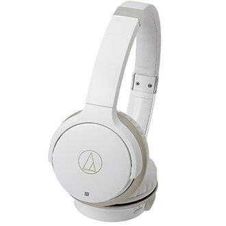 鐵三角無線耳機白·香檳黄金O技巧Bluetooth無線耳機
