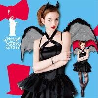 NYW_2102-10ブラックデビルSハロウィンコスチューム【halloween】ハロウィンコスプレ仮装衣装ハロウィーン