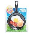 【アウトドア レジャー ゲーム】 Eggciting Breakfast 【VRT42570】 パーティーゲーム ラリー おもちゃ 楽しい エキサイティング 盛り上がる 目玉焼きゲーム フライパンラケット タマゴボール