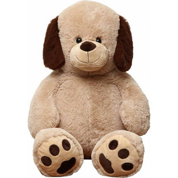 【ぬいぐるみ いぬ】 100cm イヌぬいぐるみ 【36208】【メーカー直送のため代引不可】 かわいい 犬 大きい サイズ 子供 子ども ギフト プレゼント 不二貿易