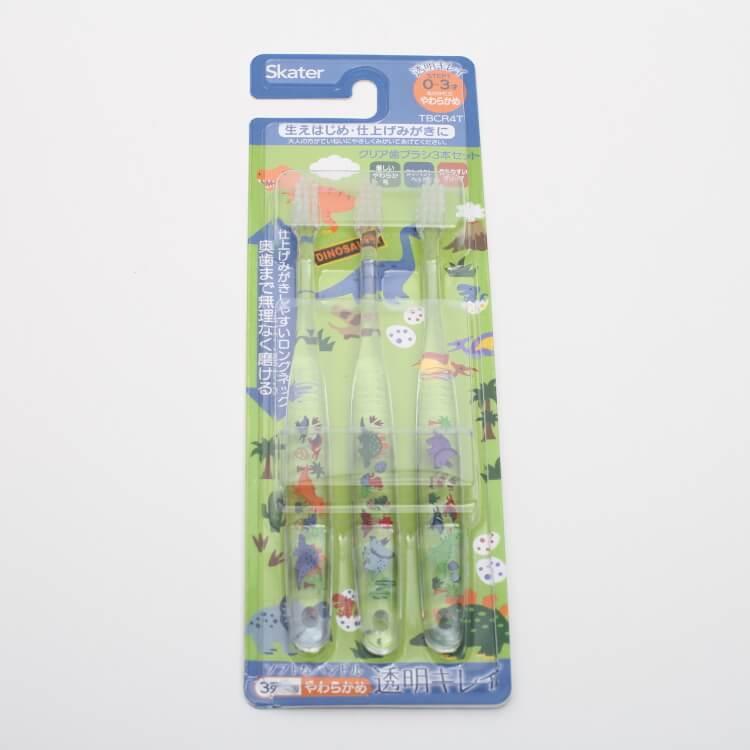 歯ブラシ・虫歯ケア, 仕上げみがき用歯ブラシ  3TBCR4T 0-3 3