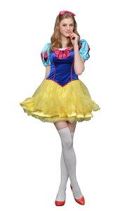 白雪姫の可愛い衣装!送料無料!ハロウィンなどで仮装して、みんなでコスプレして楽しもう♪ 大...