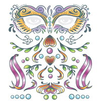 【ハロウィン小物】Carnivale■ハロウィーンパーティー結婚式二次会余興忘年会新年会出し物歓迎会送迎会