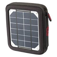 充電機能付きバッグなど、様々なUSB機器への充電が可能なソーラー充電グッズVoltaic アンプソー...