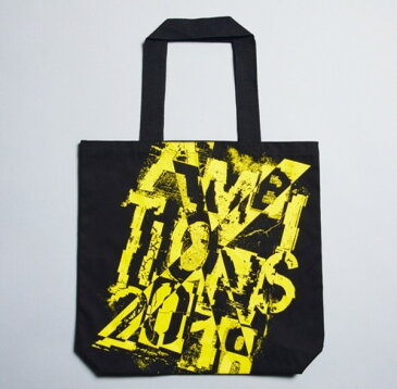 ONE OK ROCK(ワンオクロック)2018 AMBITIONS JAPAN DOME TOUR コットントート黒/ワンオク グッズ ドーム