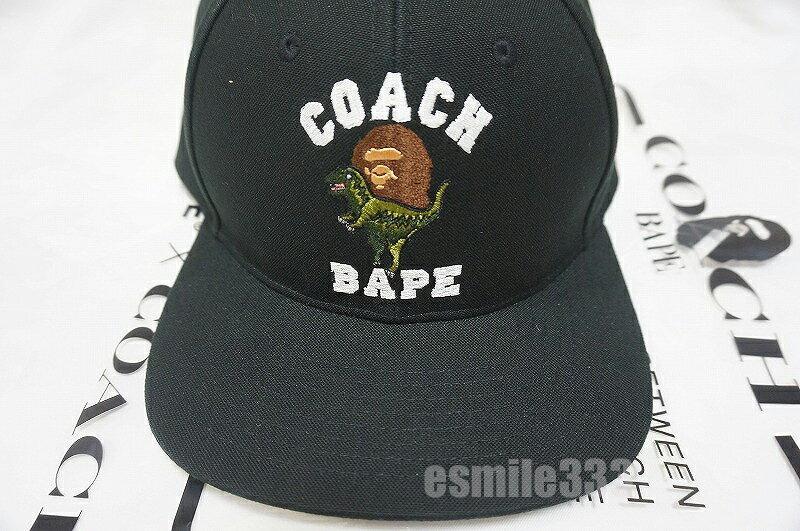 メンズ帽子, キャップ BAPE x COACH A BATING APE BASEBALL CAP