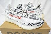 """【新古品・未使用品】国内正規品adidas(アディダス)YEEZYBOOST350V227cmCP9654""""ZEBRA""""White/スニーカー【中古】"""
