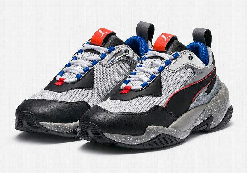 メンズ靴, スニーカー  PUMA THUNDER ELECTRIC 36799602 Gray Violet-Puma Black-QUIET SHADE 27cm