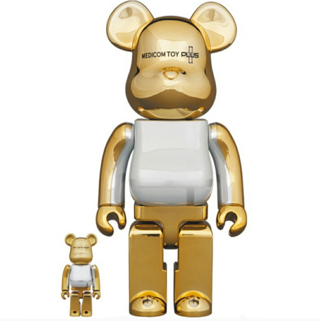 コレクション, フィギュア 920()P5242021 BERBRICK MEDICOM TOY PLUS Gold Chrome Ver. 100 400 Medicom Toy