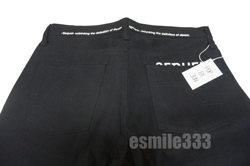メンズファッション, ズボン・パンツ fragment design SEQUEL SQ-1911-PANTS-07 DENIM PANTS BLACK L