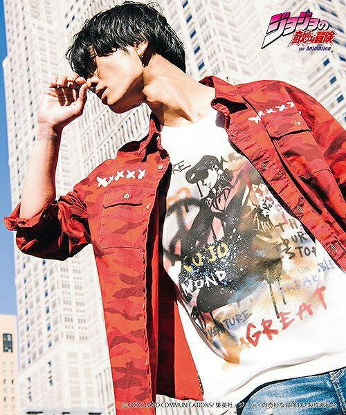 トップス, Tシャツ・カットソー  glamb() Josuke Higashikata T T14