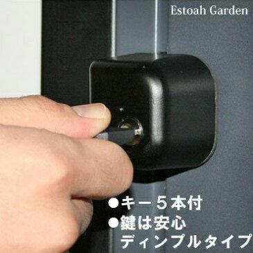 【スーパーSALE特価】 防犯グッズ ドア用補助錠 玄関ドアの鍵 どあロックガード ディンプルキー カギ5本付き