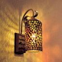 玄関 照明 LED 屋外 ポーチライト 門柱灯にはモザイクガラスの光を。玄関 照明 LED 屋外 ポーチ...