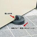 ドアストッパー万能型スロープ式吸盤式重いドアもガッチリ固定スチールドア/木製ドア/アルミドアなど