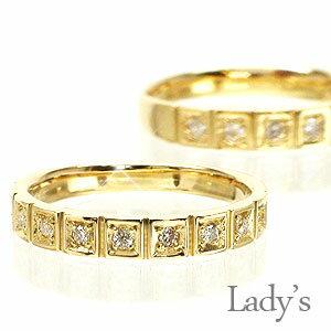 結婚指輪 マリッジリング ペアリング 18金 18k k18 イエローゴールド ピンクゴールド ホワイトゴールド 指輪 レディース ジュエリー アクセサリー プレゼント ギフト【コンビニ受取対応商品】