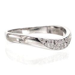 【送料無料】ダイヤモンドリングプラチナ900(PT900)0.10ctオリジナルリング無垢小指ピンキーリングミディリングファランジリング指輪レディース