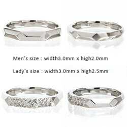 ペアリングダイヤモンド0.13ctK10ゴールド10金オリジナルリングセットリング指輪ペアアクセサリー結婚指輪マリッジリング無垢人気【送料無料】【05P12Oct15】
