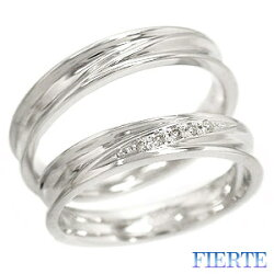 【送料無料】結婚指輪マリッジリングペアリングK10ホワイトゴールド10金人気【05P12Oct15】
