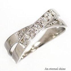 【送料無料】ダイヤモンドリングプラチナ900PT900小指ピンキーリングミディリングファランジリング指輪レディース